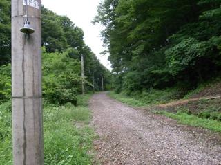 篠ノ井線廃線敷遊歩道