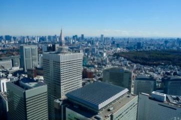 東京都庁 展望台