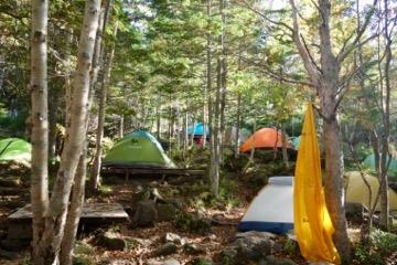 白駒の池キャンプ場