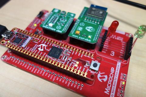 Microchip Technology SAM E51 Curiosity Nanoキット